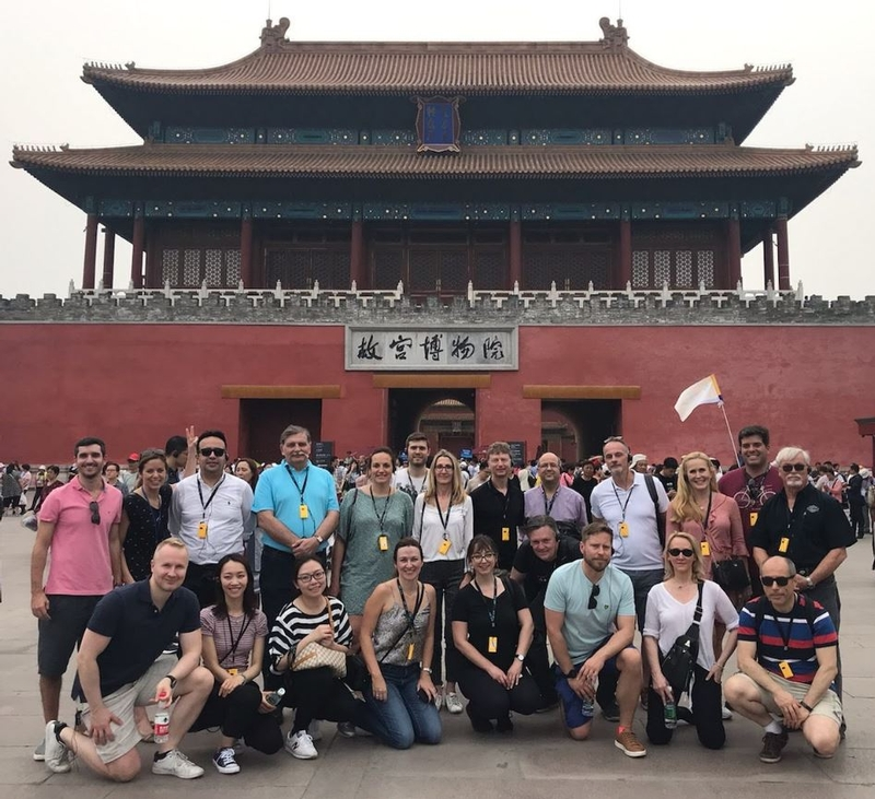 TMG at Forbidden City